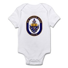 USS Reuben James FFG-57 Navy Ship Infant Bodysuit
