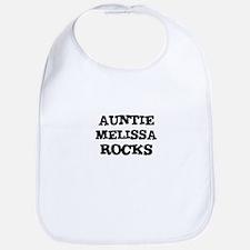 AUNTIE MELISSA ROCKS Bib
