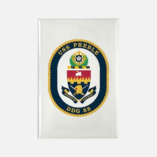 USS Preble DDG-88 Navy Ship Rectangle Magnet