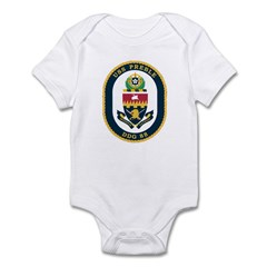USS Preble DDG-88 Navy Ship Infant Bodysuit