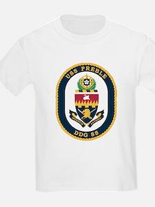 USS Preble DDG-88 Navy Ship T-Shirt