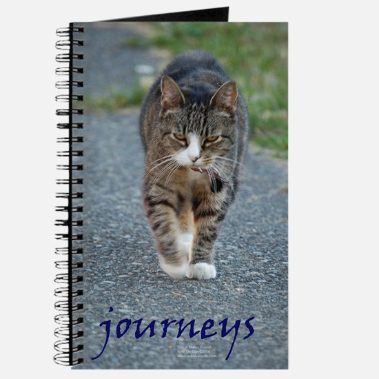 Gracie the Cat Journeys Journal