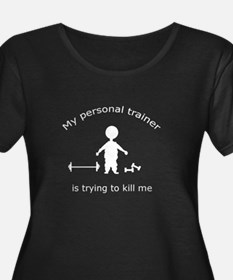 Cute Weight training T