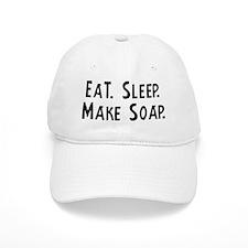 Eat, Sleep, Make Soap Baseball Cap