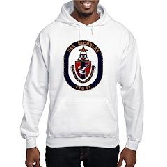 USS Nicholas FFG-47 Navy Ship Hooded Sweatshirt