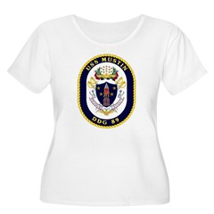 USS Mustin DDG-89 Navy Ship T-Shirt