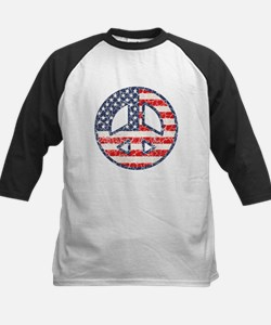 Flag-Peace-dist Tee