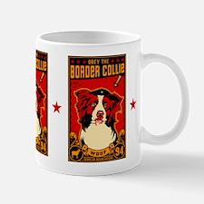 Border Collie Revolution! Propaganda Mug