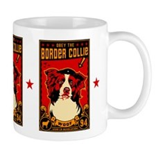 Border Collie Revolution! Propaganda Mug