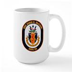 USS John McCain DDG-56 Navy Ship Large Mug