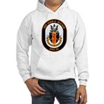 USS John McCain DDG-56 Navy Ship Hooded Sweatshirt