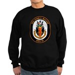 USS John McCain DDG-56 Navy Ship Sweatshirt (dark)