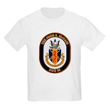 USS John McCain DDG-56 Navy Ship T-Shirt