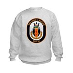 USS John McCain DDG-56 Navy Ship Kids Sweatshirt