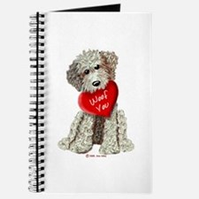 WOOF YOU Doodle Love Journal