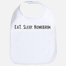 Eat, Sleep, Homebrew Bib