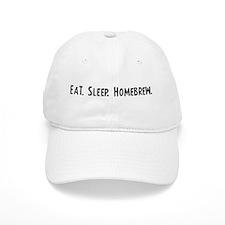 Eat, Sleep, Homebrew Baseball Cap