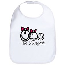 The Youngest of Three (Girl, Bib