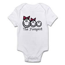 The Youngest of Three (Girl, Infant Bodysuit