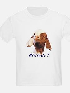 Goat-Boer with Attitude Kids T-Shirt