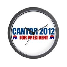 Cute Cantor president Wall Clock