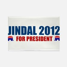 Funny Bobby jindal Rectangle Magnet