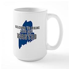 MAINE SHIRT LETS GET WASTED D Mug