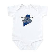 MAINE SHIRT LETS GET WASTED D Infant Bodysuit