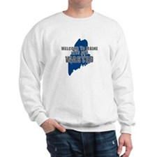 MAINE SHIRT LETS GET WASTED D Sweatshirt