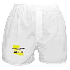 LOUISIANNA SHIRT LETS GET DRU Boxer Shorts