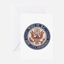 Wall St. D.C. Greeting Cards (Pk of 10)