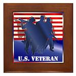 US Veteran Framed Tile