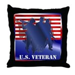 US Veteran Throw Pillow