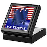 US Veteran Keepsake Box