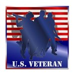 US Veteran Tile Coaster