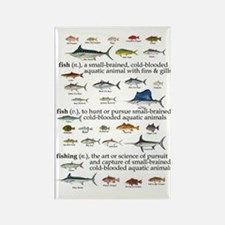 Fishin Definition Rectangle Magnet