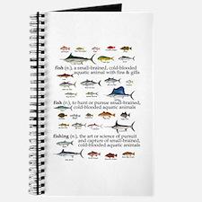 Fishin Definition Journal