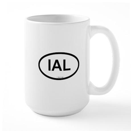 I Am Lost Large Mug