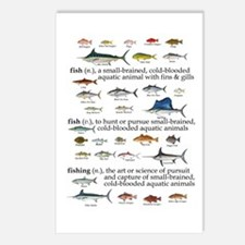 Fishin Definition Postcards (Package of 8)