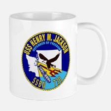 USS Henry M. Jackson SSBN 730 Navy Ship Mug