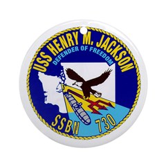 USS Henry M. Jackson SSBN 730 Navy Ship Ornament (