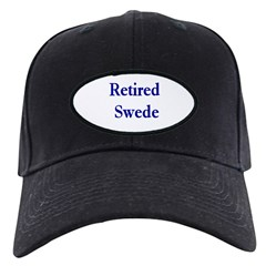 Retired Swede Baseball Hat