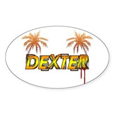 Dexter Oval Decal