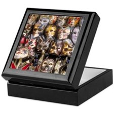 Italy Keepsake Box: <br> Venetian masks