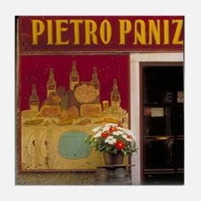 Italy Tile Coaster: <br> Italian restaurant
