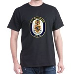 USS Halyburton FFG-40 Navy Ship Dark T-Shirt