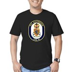USS Halyburton FFG-40 Navy Ship Men's Fitted T-Shi