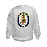 USS Halyburton FFG-40 Navy Ship Kids Sweatshirt