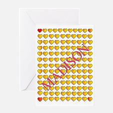 MADISON HEART Greeting Card