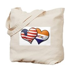 Funny Usa south africa Tote Bag